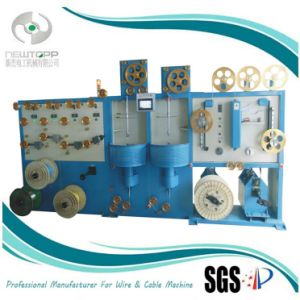 Vertical Double Layer Cable Taping Machine pictures & photos
