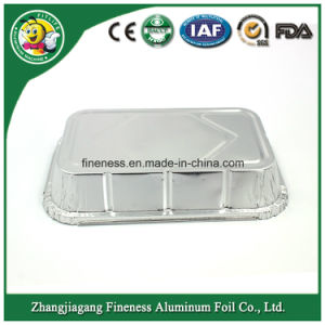 8g 3003 Disposable Aluminum Lunch Tray for Fast Food Packing Takeaway pictures & photos