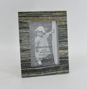 Distressed MDF Paper Veneer Picture Frame for Home Deco pictures & photos
