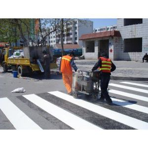 Reflective Thermoplastic Road Marking Material