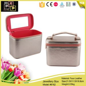 Fashion Popular Leather Jewelry Storage Box (8162) pictures & photos