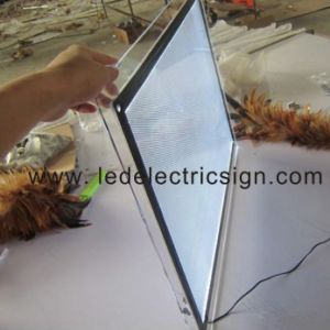 Slim LED Light Box for Advertising pictures & photos