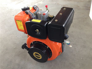7HP 4-Stroke Air-Cooled 1 Cylinder Small Yanmar Type Recoil Start Diesel Engine pictures & photos