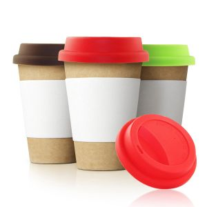 Portable Food Grade Travel Coffee Tea Mug Cup Lid pictures & photos
