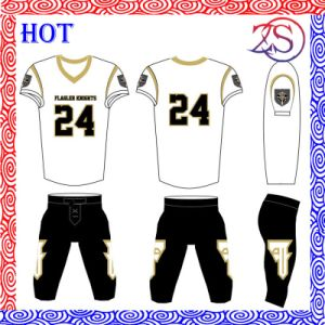 Custom Fully Spandex Intergrated Sublimated American Football Shirt pictures & photos