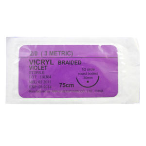 Medical Suture Polyglactin 910 Suture pictures & photos