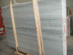 Hot Blue Wood Marble Tile & Slab pictures & photos
