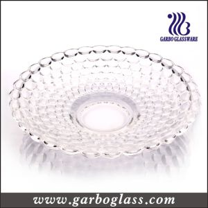 DOT Design High Quality Crystal Glass Fruit Plate (GB1712YD) pictures & photos