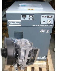 Atlas Copco Low Noise Oil Free Air Compressor pictures & photos