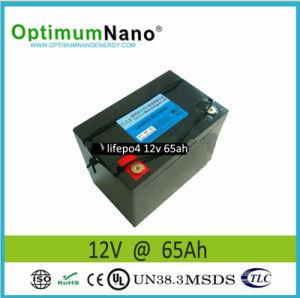 Wholesale! LiFePO4 12V 65ah Portable Solar Battery pictures & photos