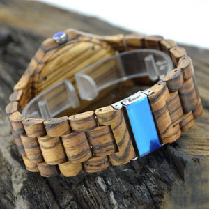 New Environmental Protection Japan Movement Wooden Fashion Watch Bg323 pictures & photos