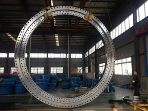 Precision Large Diameter, Three Row Roller Slewing Ring pictures & photos