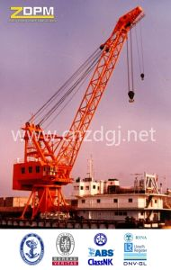 Shore Crane at Seaport to Handle Barge Lifting pictures & photos