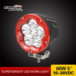 "High Power 5"" 60W Red Housing LED Driving Light pictures & photos"