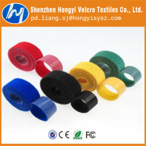 Professional Colorful Hook and Loop Velcro Tape pictures & photos