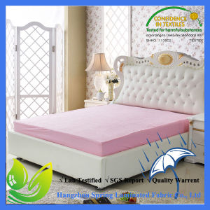 Queen Size Premium Mattress Protector Waterproof Fitted Bed Cover pictures & photos