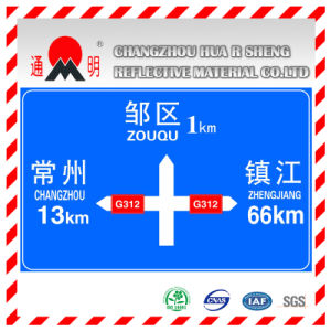 Super High Intensity Grade Prismatic Reflective Film Sheeting for Highway Road Sign (TM9200) pictures & photos