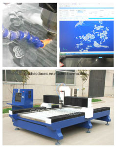 3 Axis CNC Machine for Glass Design pictures & photos