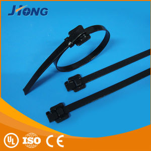 Releasable Type Covered Coated Stainless Steel Cable Ties pictures & photos