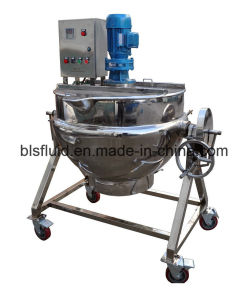 Customized Electric Heating Qj Series Tilting Jacketed Kettle pictures & photos