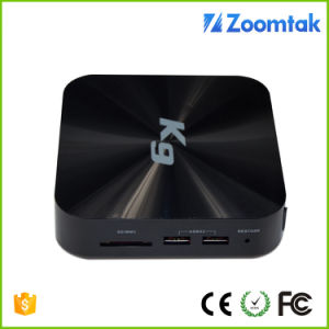 Factory Price Zoomtak K9 Quad Core TV Box Android 5.1 pictures & photos