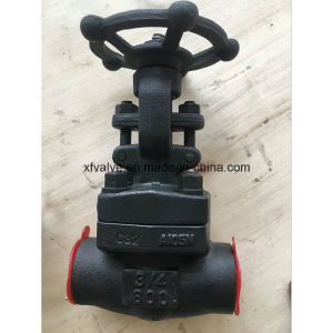 800lb/1500lb/2500lb Forged Steel A105 Thread End Gate Valve pictures & photos