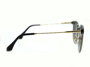 Women′s Retro Goggles Eyeglasses Metal Frame Sweet Round Sunglasses pictures & photos