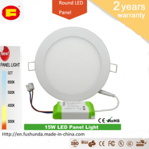 15W LED Panel No Flicker LED Bulb with Round Shape pictures & photos