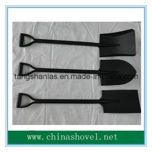 Powder Coated Shovel with Steel Handle Steel Handle Shovel pictures & photos