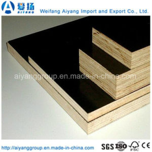 1250X2500X20mm Black Film Faced Marine Plywood for Construction pictures & photos