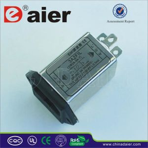 Single-Phase AC Socket EMI Power Line Filter pictures & photos