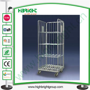 Logistic Warehouse Trolley Foldable Roll Container pictures & photos