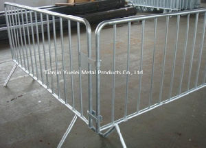 2.3m Fixed Leg Crowd Control Barrier/Specifically Designed and Manufactured Pedestrian Barricades pictures & photos