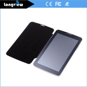 Android 7 Inch HD Screen 1024*600 3G Mobile Mini PC Phone Tablet with Leather Case pictures & photos