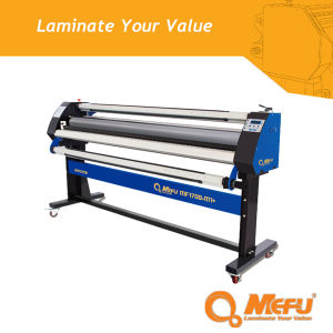 (MF1700-M1+) Pneumatic Heat Assist Cold Roll Lamination Machine for Paper Laminating pictures & photos