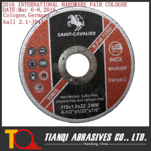 4.5′ Abrasive Thin Cutting Disc Cutting Wheel for High Tensile Alloy (115X1.0X22.2) pictures & photos