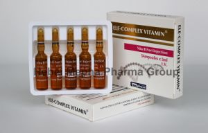 Skin Friendly Complex Vitamin B, Vb, B12, B6 Vita B Injection pictures & photos