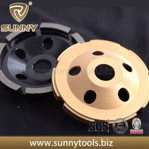 Single Row Diamond Cup Wheels for Granite Concrete pictures & photos