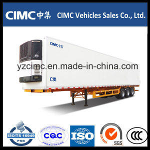 Cimc 40FT 30t Tri-Axle Refrigerated Semi Trailer Truck Trailer pictures & photos