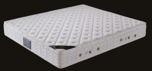 Classical Home Furniture Euro-Top Memory Foam Pocket Spring Bed Mattress pictures & photos