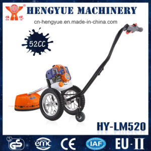 Weeding Machine Lawn Mower Brush Cutter with Wheels pictures & photos