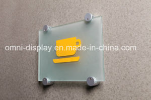 Aluminum Display Side Clamp Standoff pictures & photos
