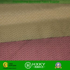 Embossed Printed Memory Fabric for Woven Jackets