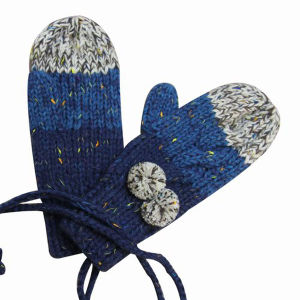 Lady Fashion Acrylic Knitted Winter Warm Dress Gloves (YKY5423) pictures & photos