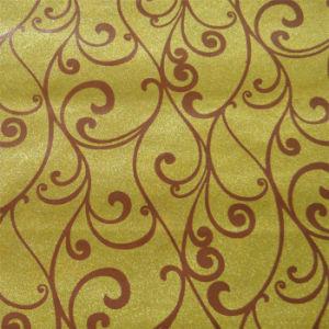 Factory New Design Glitter Wallpaper for KTV Decoration