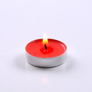 Pressed Mini Scented Tealight Candles with Aluminum Base pictures & photos