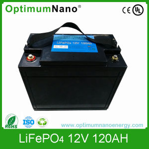 Rechargeable 12V 120ah Lithium Battery for Solar pictures & photos