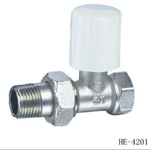 (HE4204--HE4206) Radiator Valve with Plastic Handle for Water pictures & photos