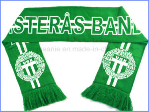 New Style Custom Football Scarf with High Quality Fan Scarf pictures & photos