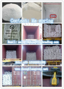 Sodium Sulphate Anhydrous for Synthetic Detergent/ Glass/ Paper Making pictures & photos